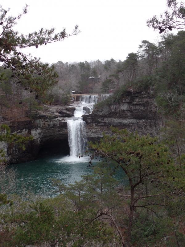 DeSoto Falls in DeSoto State Park, Alabama